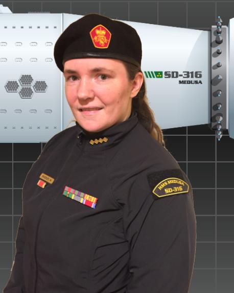 CDR Dame Melissa Comeau, KE, RMN