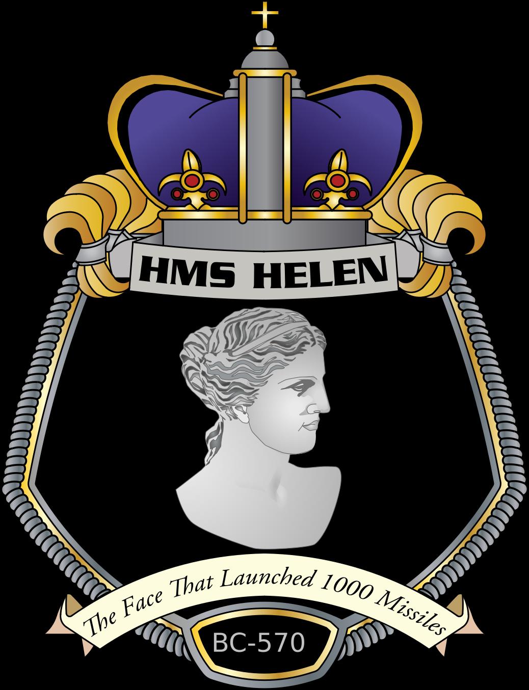 HMS Helen crest
